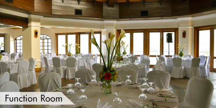 Function Room of Club Punta Fuego