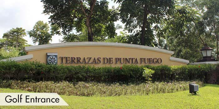 Golf Entrance of Club Punta Fuego