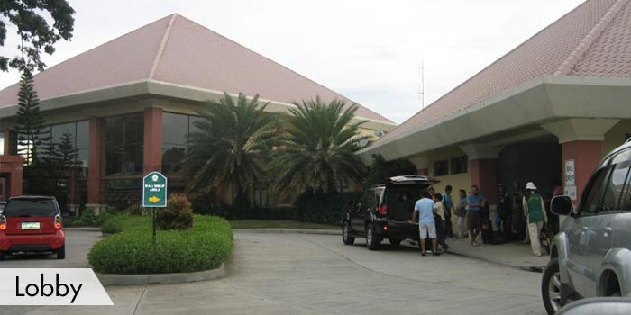 Dagupan Golf & Beach Club Lobby