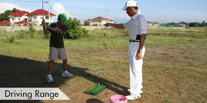 Driving Range of Dagupan Golf & Beach Club