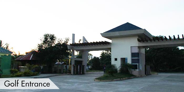 Golf Entrance of Dagupan Golf & Beach Club