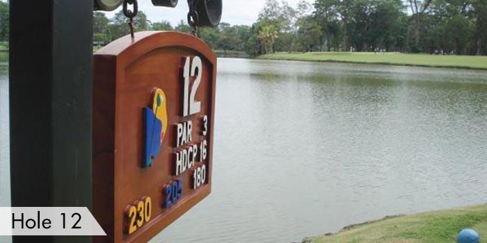Del Monte Golf Club  Hole 12