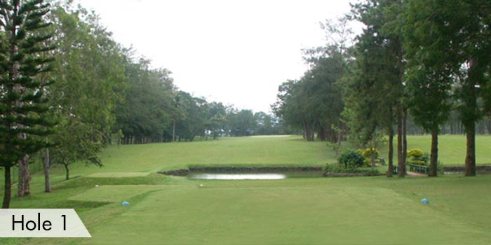 Del Monte Golf Club Hole 1
