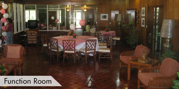 Function Room at Del Monte Golf Club
