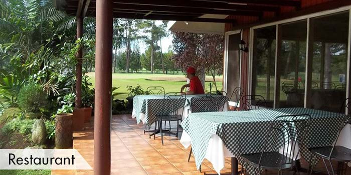 Restaurant in Del Monte Golf Club
