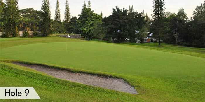Dole Kalsangi Golf Club Hole 9
