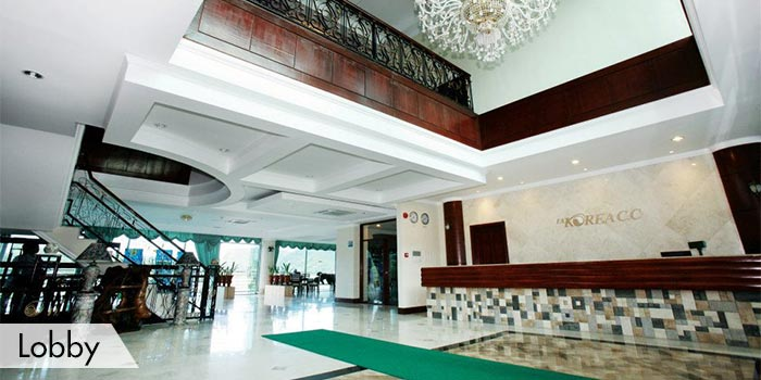 Fontana & Apollon Korea Country Club Lobby