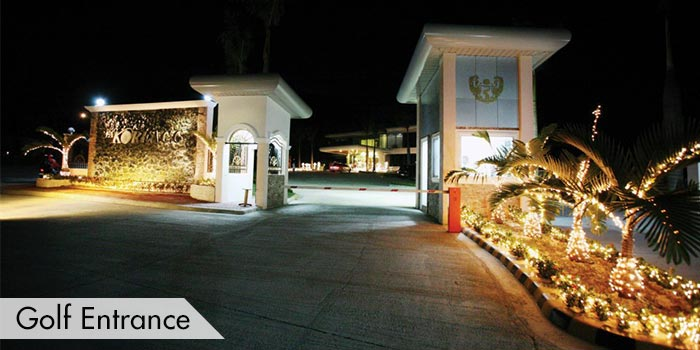 Golf Entrance og Fontana & Apollon Korea Country Club