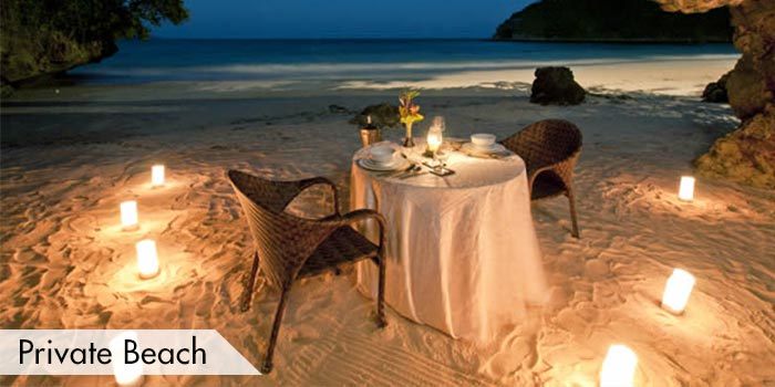 A Private Date on the Beach at Fairways & Bluewater Resort Golf & Country Club