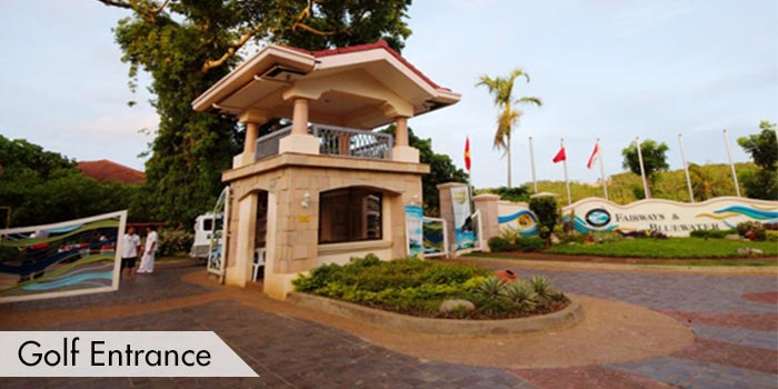 Fairways & Bluewater Resort Golf & Country Club Golf Entrance