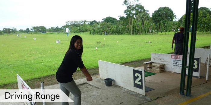 Driving Range at Fernando Airbase Golf and Country Club