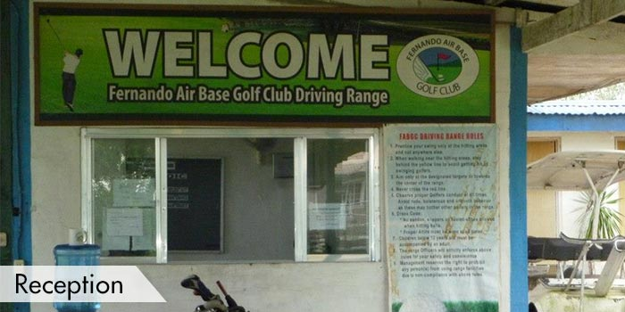 Fernando Airbase Golf and Country Club Reception