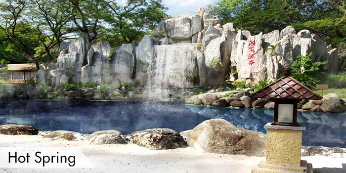 A Hot Spring at Fontana Leisure Parks & Casino
