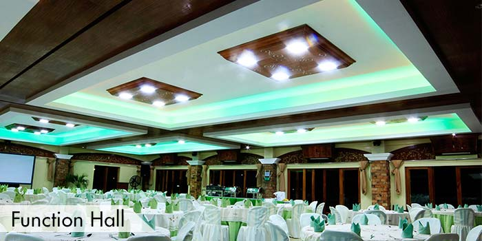 A Function Hall at Haciendas de Naga Sports Club, Inc.