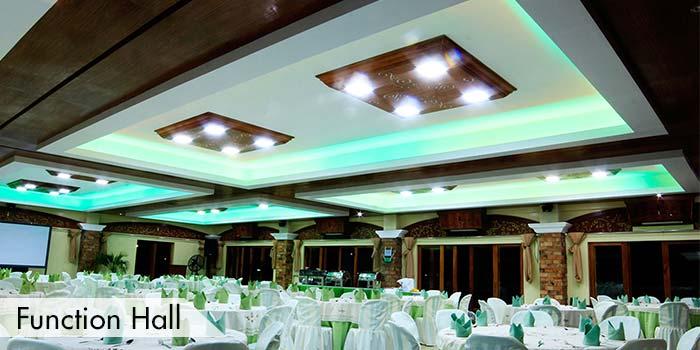 A Function Hall at Haciendas de Naga Sports Club, Inc.