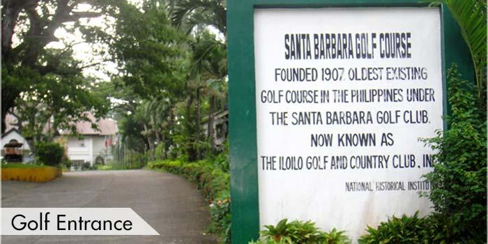 Golf Entrance Of Iloilo Golf & Country Club, Inc.