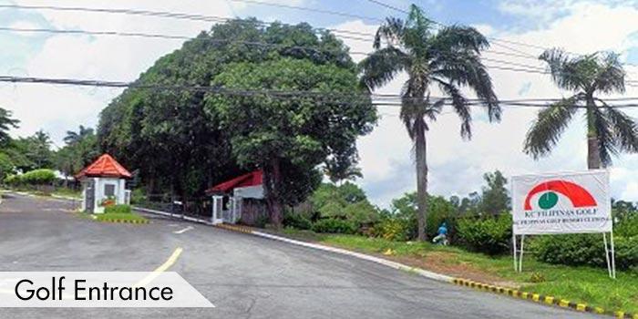 Golf Entrance of KC Filipinas Golf Club