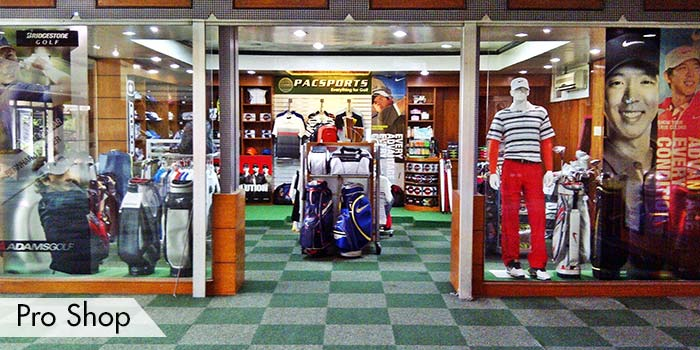 KC Filipinas Golf Club Pro shop