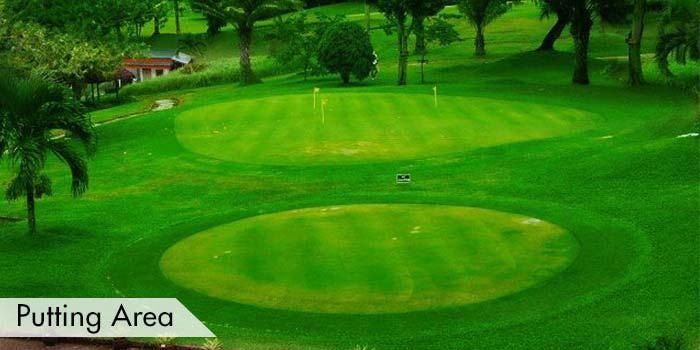 KC Filipinas Golf Club Putting Area