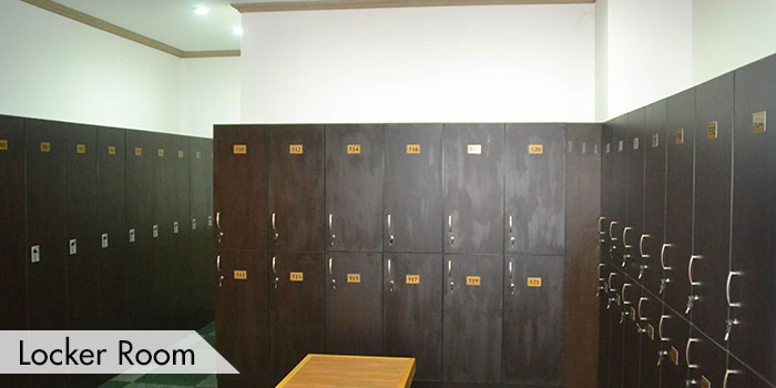 Locker Room at KC Filipinas Golf Club