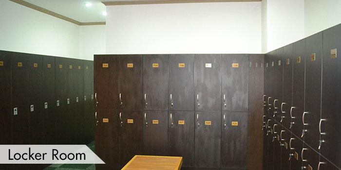 Locker Room at KC Filipinas Golf Club