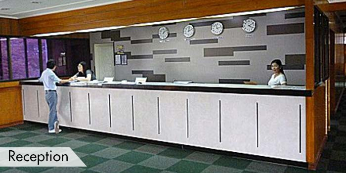 Reception Area at KC Filipinas Golf Club