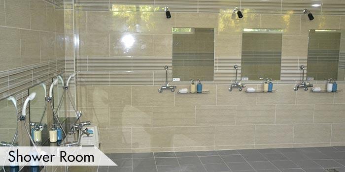 Shower Room at KC Filipinas Golf Club