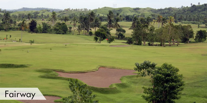 Leyte Golf & Country Club Fairway