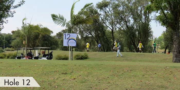 Hole 12 at Luisita Golf & Country Club