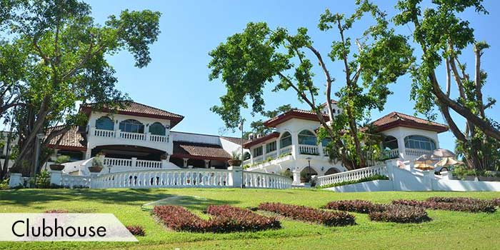 The Clubhousue of Luisita Golf & Country Club