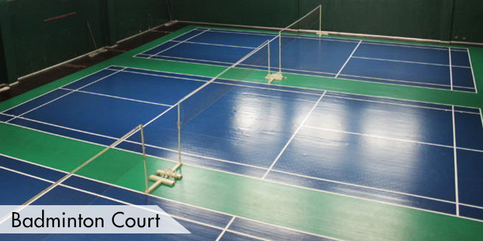 Manila Golf & Country Club Badminton Court
