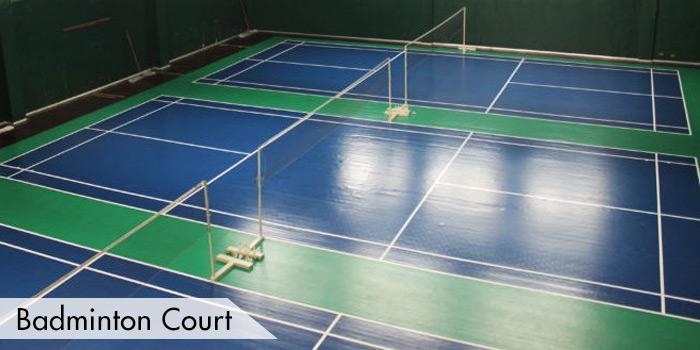 Manila Golf & Country Club Badminton Court