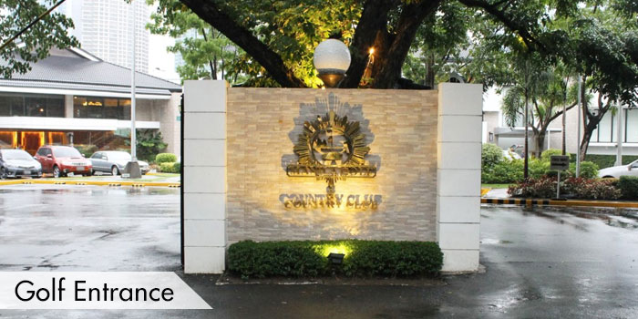 Manila Golf & Country Club Golf Entrance