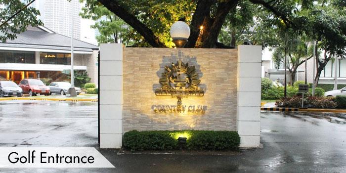 Manila Golf & Country Club Golf Entrance