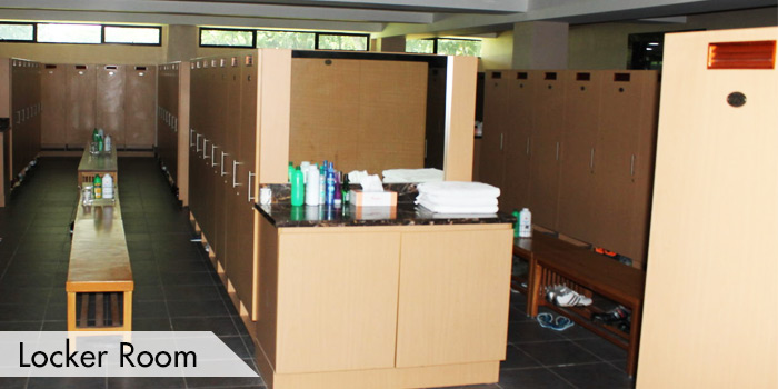 Manila Golf & Country Club Locker Room