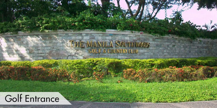 Manila Southwoods Golf & Country Club Golf Entrance