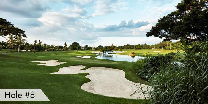 Manila Southwoods Golf & Country Club Hole 8