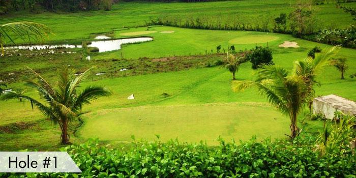 Maya Siargao Villa & Golf Hole 1