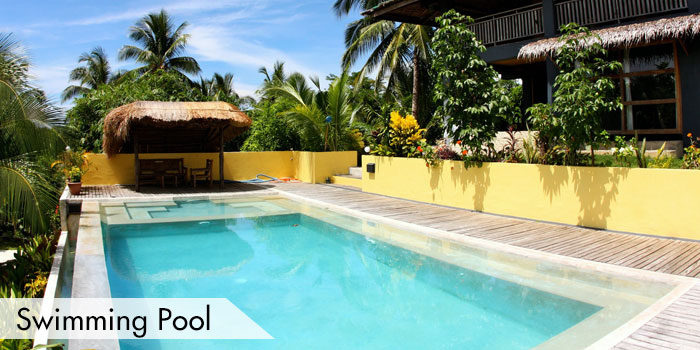 Maya Siargao Villa & Golf Swimming Pool