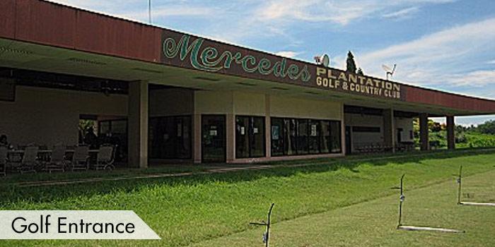 Mercedes Plantation Golf & Country Club Golf Entrance