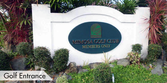 Mimosa Golf & Country Club Golf Entrance