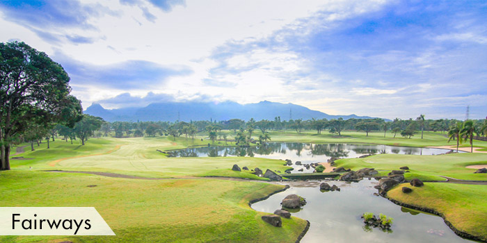 Mount Malarayat Golf & Country Club Fairways