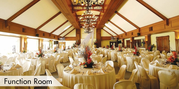 Mount Malarayat Golf & Country Club Function Room