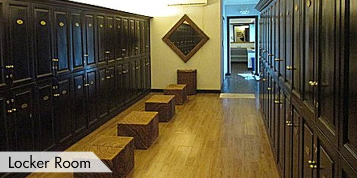 New Asia Golf & Spa Resort Locker Room