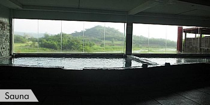 New Asia Golf & Spa Resort Sauna