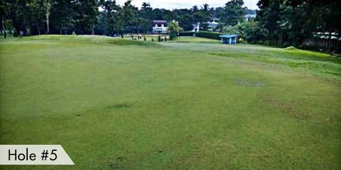 Navy Golf Club Hole 5