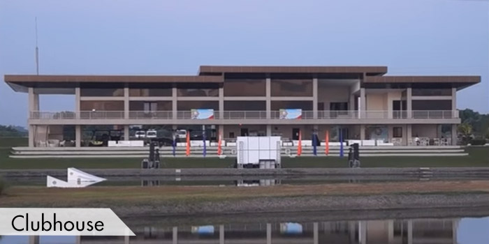 The Clubhouse of Pradera Golf and Country Club