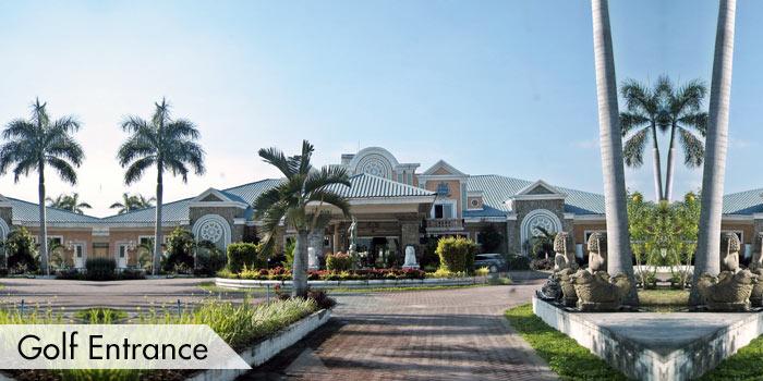 Royal Garden Golf & Country Club Golf Entrance