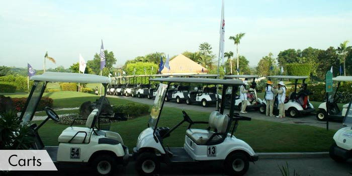 Royal Northwoods Golf & Country Club Carts