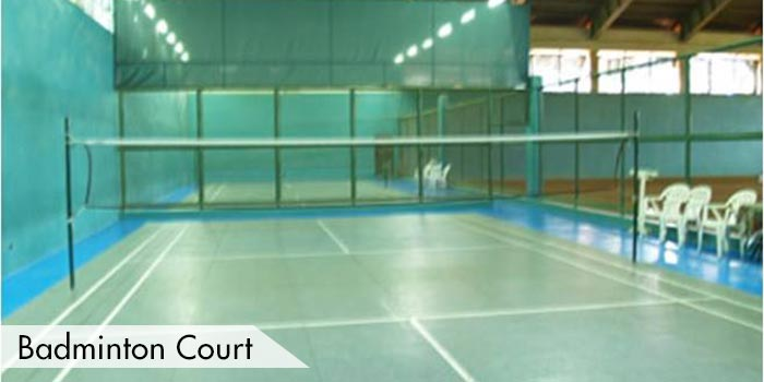 Badminton Court at Royale Tagaytay Country Club
